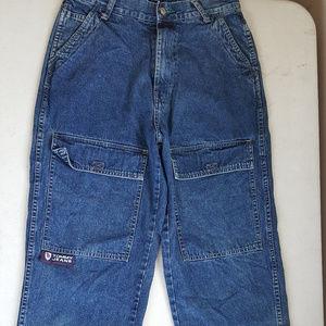 Vintage Tommy Hilfiger Jeans 30x32 Big Pocket Flag